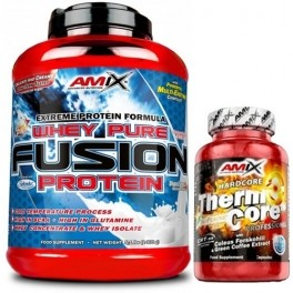 Pack Amix Whey Pure Fusion 2,3 kg + ThermoCore 30 caps