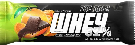 Menu Fitness The Only Whey 32 % 40 gr