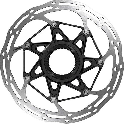 Sram Disco Freno Centerline 2Pz 180Mm C.L. Blk (Biselado)