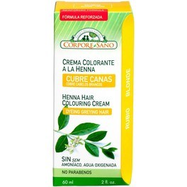 Corpore Sano Cr.colorante Henna Rubio 60ml