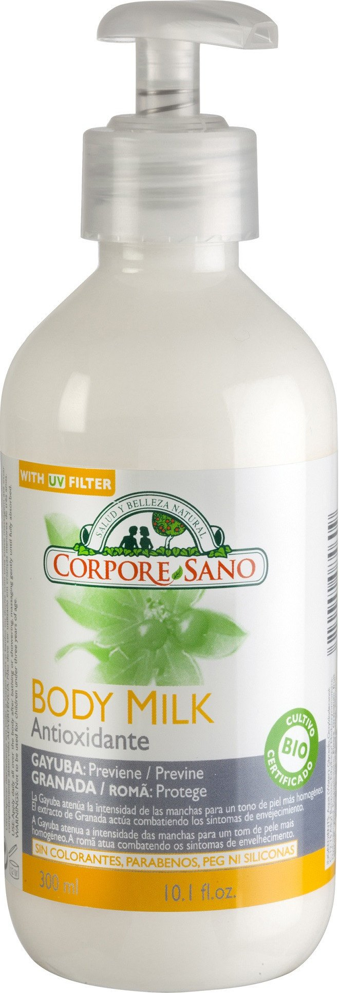 Corpore Sano Body Milk Antioxidantes 300 Ml Bio