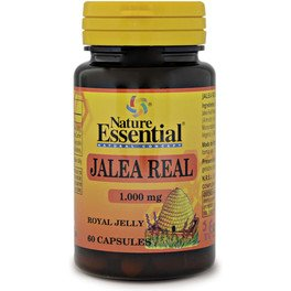Nature Essential Jalea Real 1000 Mg 60 Caps