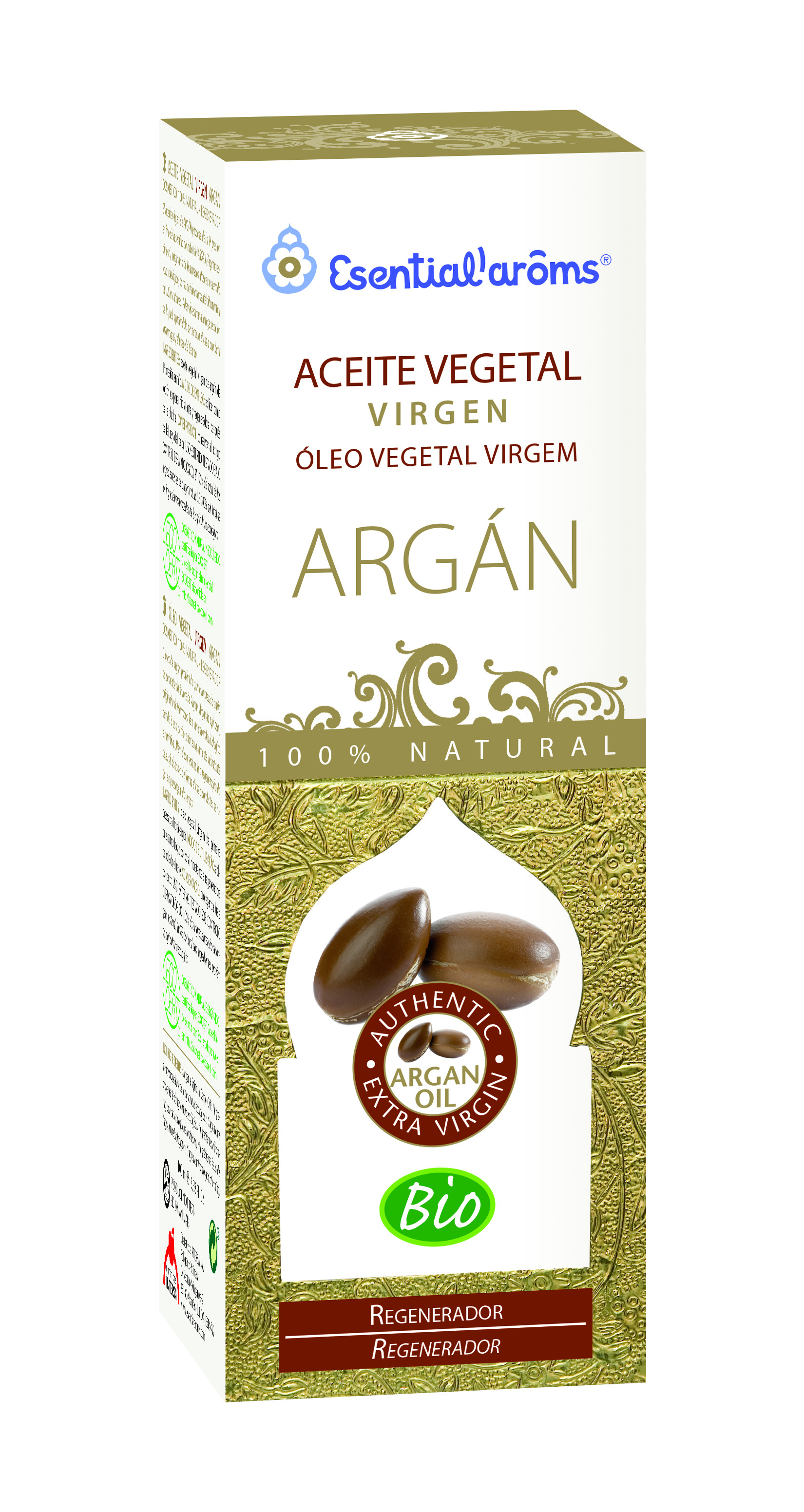 Esential Aroms Aceite Vegetal Argan 100 Ml