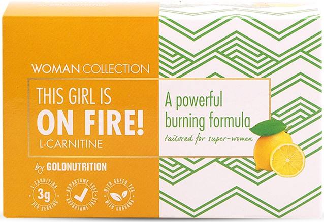 Woman Collection L-Carnitina OnFire 15 viales x 12 ml