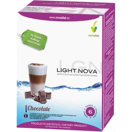Novadiet Light Nova Chocolate 6 Sobres