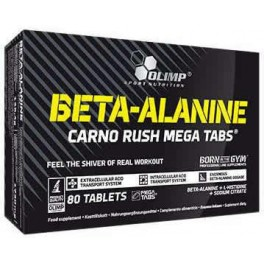 Olimp Beta Alanina Carno Rush 80 tabs