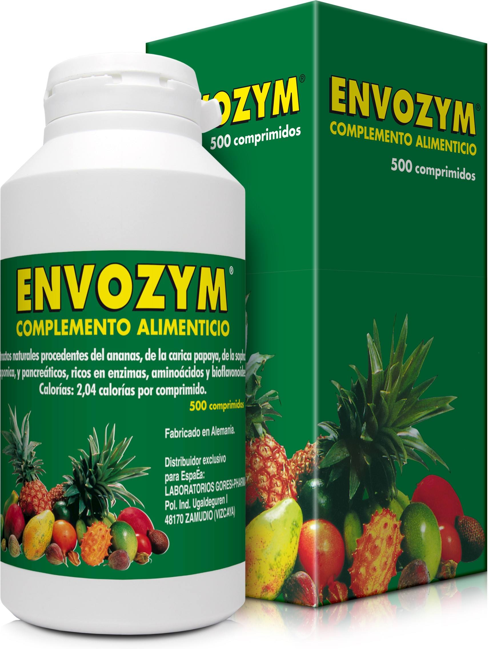 Nutribiol Envozym 500 Comp