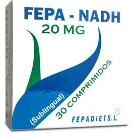Fepa - Nadh 20 Mg Sublingual 30 Comp
