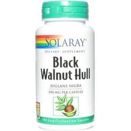 Solaray Black Walnut (Nogal Negro) 500 Mg 100 Caps