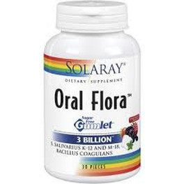 Solaray Oral Flora 30 Lozenges