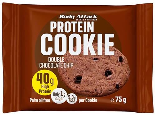 Body Attack Sports Nutrition Protein Cookie Chocolate 1 galleta x 75 gr