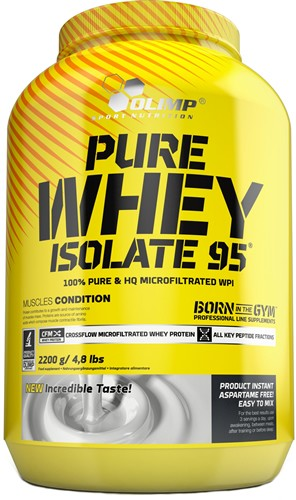 Olimp Pure Whey Isolate 95 2200 gr