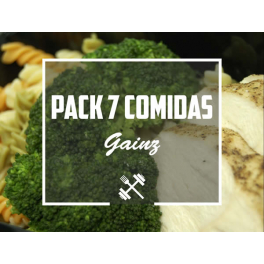Feedness Meals  Pack Gainz 7 platos Ganar Volumen