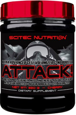 Scitec Nutrition Attack 2.0  320 gr