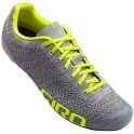 Giro Zapatillas Empire E70 Knit Gris-Amarillo Fluor
