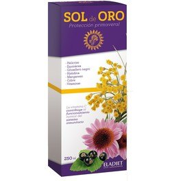 Eladiet Sol De Oro Jarabe Plus 250 Ml
