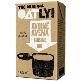 Oatly Crema Avena L. Cuisine Oatly Bio 250 Ml