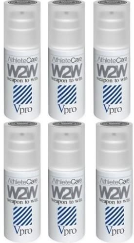 W2W VPro Vaselina Deportiva Lubricante Anti Fricción 6 Botes x 90 ml