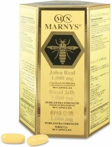 Marnys Jalea Real y Lecitina 90 caps