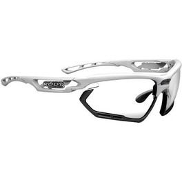 Rudy Project Gafas Fotonyk Blanco Brillante - Negro con Lentes ImpactX Photochromic 2 Black