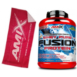 Pack Amix Whey Pure Fusion 2,3 kg + Toalla Roja