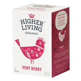 Higher Living Infusión Very Berry 15 Bolsas