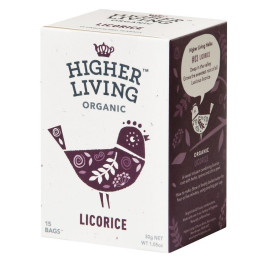 Higher Living Infusión De Regaliz 15 Bolsas