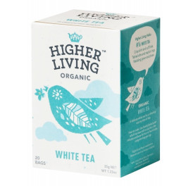 Higher Living Té Blanco 20 Bolsas