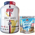 Pack BIG Only Whey Pure Big Series 2 kg + Max Protein Harina de Avena Bulevip 500 gr