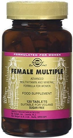 Solgar Female Multiple Multivitaminico para Mujer 120 caps