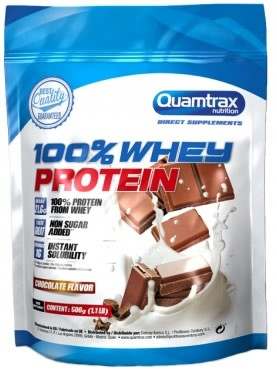 Quamtrax Direct 100% Whey Protein Isolate 500 gr