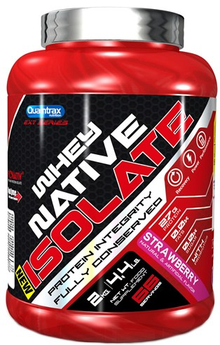 Quamtrax Protein Whey Native Isolate 2 kg (4.4 lb)