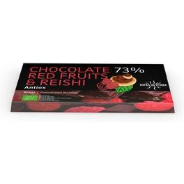 Hifas Da T Chocolate 73% Red Fruits & Reishi 100 G