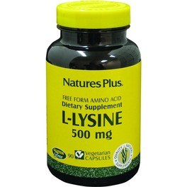 Natures Plus L Lisina 90 Caps 500 Mg