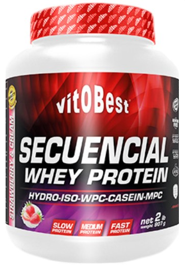VitOBest Secuencial Whey Protein 1,81 kg