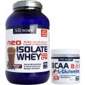 Pack Victory Neo Isolate Whey 100 CFM 2 Kg + BCAA 8:1:1 + L-Glutamina 100 gr