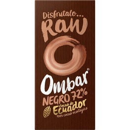 Ombar Chocolate (Dark 72%) Negro 72% Crudo Bio 35g