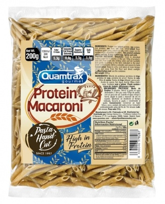 Quamtrax Protein Macaroni Macarrones Proteicos 200 gr
