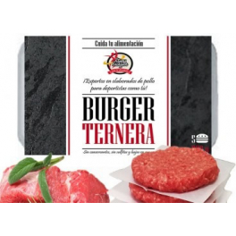 Pack Fitness Burger 10 Bandejas De 5 Hamburguesas Especiales