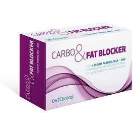 Diet Clinical Carbo Fat Bloker 60cap