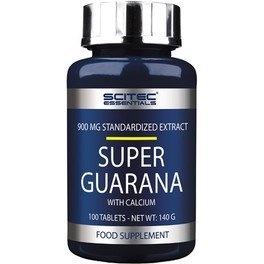 Scitec Essentials Super Guaraná 100 tabs