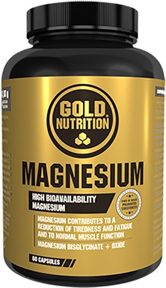 Gold Nutrition Magnesium 600 mg 60 caps