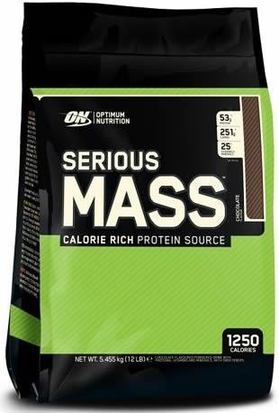 Optimum Nutrition Serious Mass 12 Lbs (5,45 Kg)
