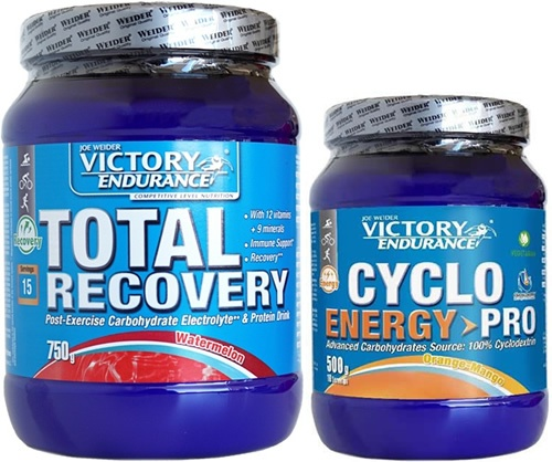 Pack Victory Endurance Total Recovery 750 gr + Cyclo Energy Pro 500 gr