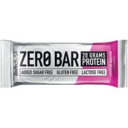 Cad-29/10/20 BiotechUSA Zero Bar 1 barrita x 50 gr Chocolate-Banana