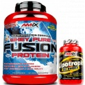 Pack Amix Whey Pure Fusion 2,3 kg + Lipotropic Fat Burner 30 caps