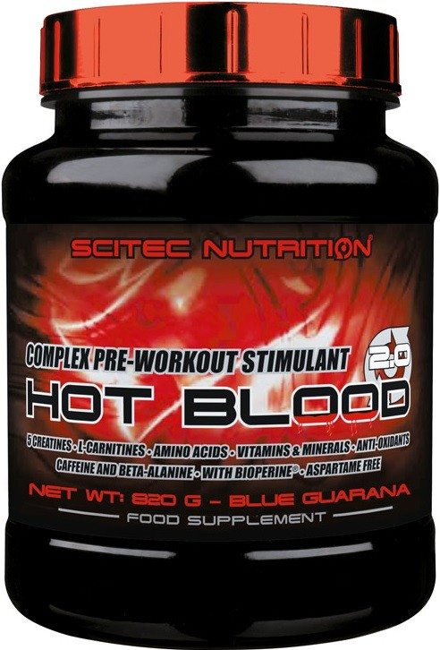 Scitec Nutrition Hot Blood 3.0 300 gr