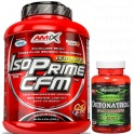 Pack Amix IsoPrime CFM Isolate 2 kg + Detonatrol Fat Burner 30 caps