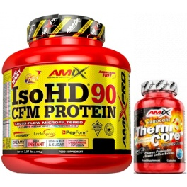 Pack Amix Pro Iso HD CFM Protein 90 1800 gr + ThermoCore 30 caps