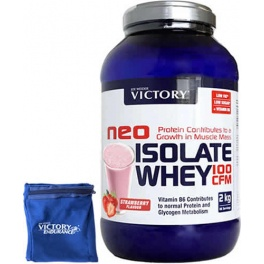 Pack Victory Neo Isolate Whey 100 CFM 2 Kg + Muñequera Exclusiva